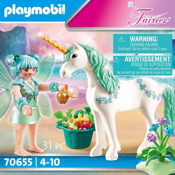 Playmobil Fairies 70655 Unicorno con Fata Playmobil - 2
