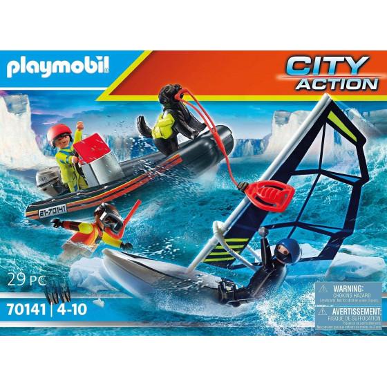 Playmobil City Action 70141Gommone Della Guardia Costiera Playmobil - 4
