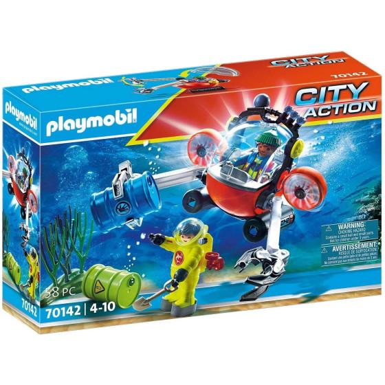 Playmobil City Action 70142 Sommergibile e Palombaro Della Guardia Costiera Playmobil - 4