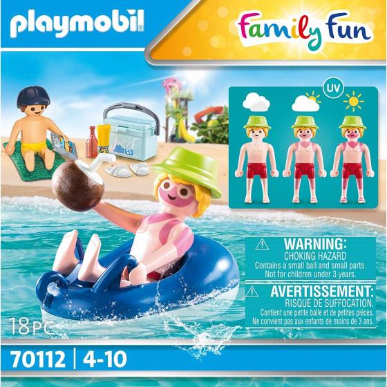 Playmobil Family Fun 70112 Bagnante con Canotto Playmobil - 2