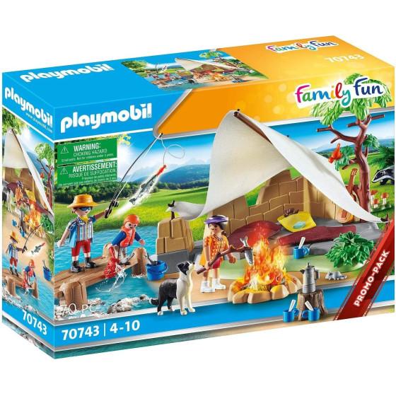 Famiglia In Campeggio Playmobil 70743 Playmobil - 3