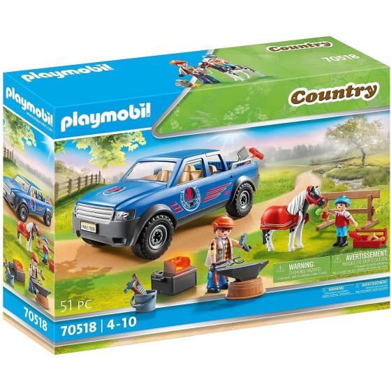 Maniscalco con Pick-Up Playmobil 70518 Playmobil - 6