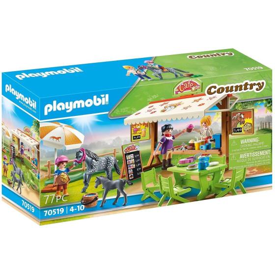 Pony Cafe Playmobil 70519 Playmobil - 5