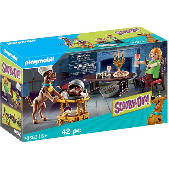 A Cena Con Shaggy Scooby-doo Playmobil 70363 Playmobil - 5