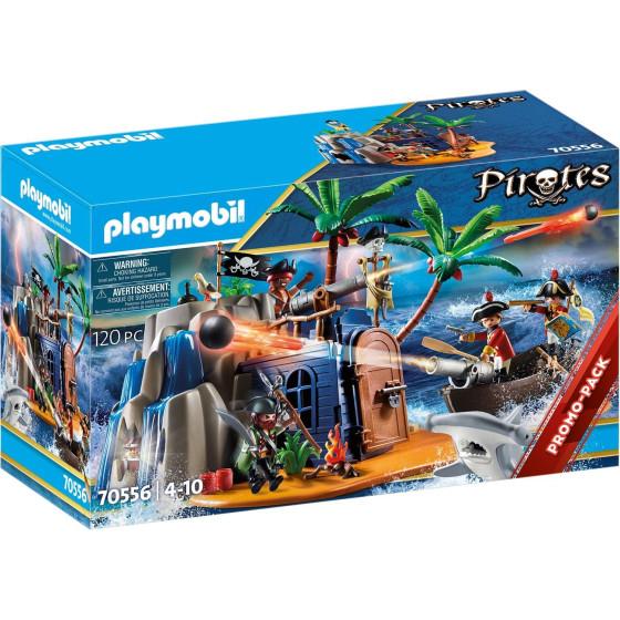 Covo Del Tesoro Dei Pirati Playmobil 70556 Playmobil - 6