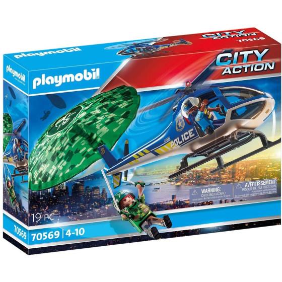 Elicottero Della Polizia e Fuggitivo Playmobil 70569 Playmobil - 6