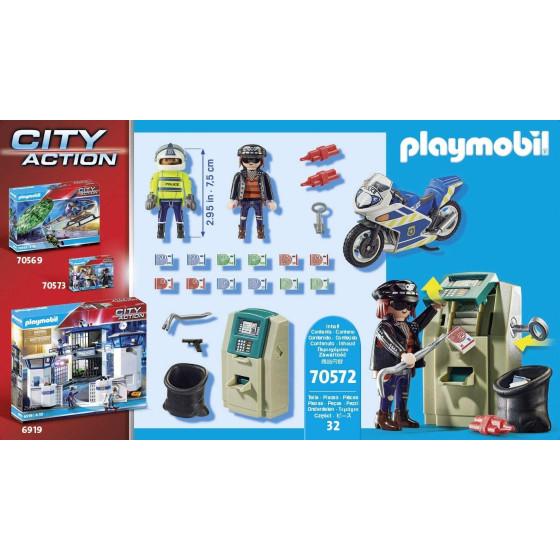 Poliziotto In Moto E Ladro Playmobil 70572 Playmobil - 5