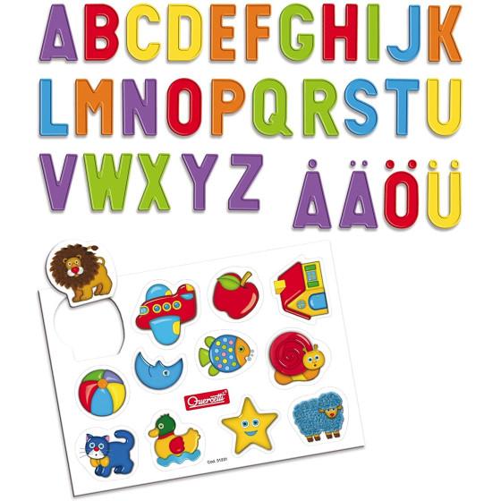 Tablet Magnetico Lettere Basic Quercetti - 1