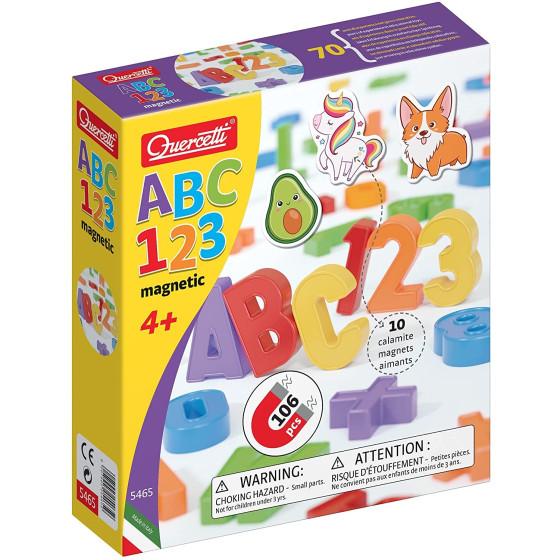 ABC 123 Magnetic Multicolor Quercetti Quercetti - 4