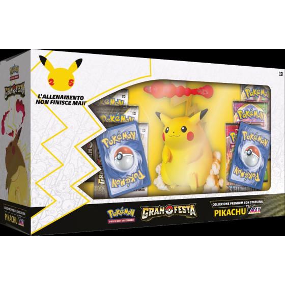 Pokemon Gran Festa Collezione Premium con Statuina Pikachu VMAX Gamevision - 1