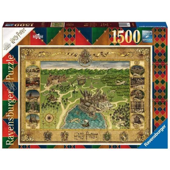Puzzle Mappa Di Hogwarts Ravensburger Ravensburger - 4