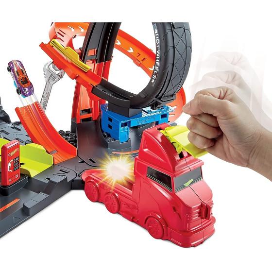 Hot Wheels Playset Assalto del Gorilla Velenoso GTT94 Mattel - 1