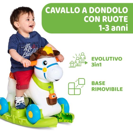 Baby Rodeo Cavallo a Dondolo 07907 Chicco - 1