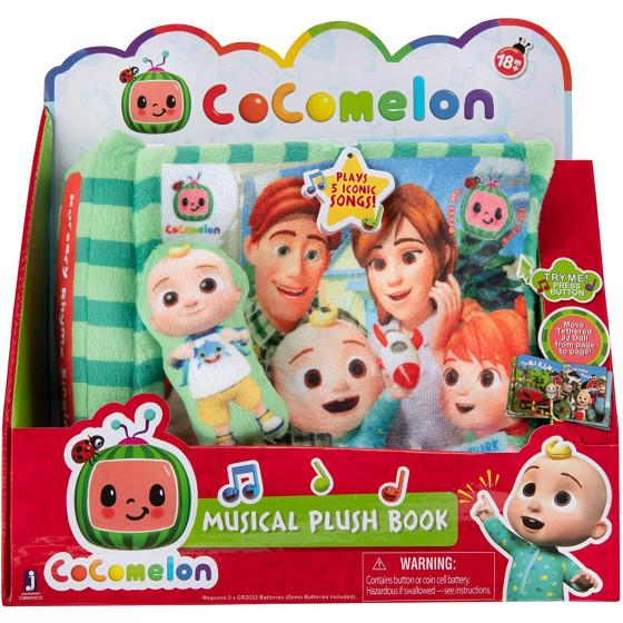 Cocomelon Libro Peluche Musicale Bandai - 1
