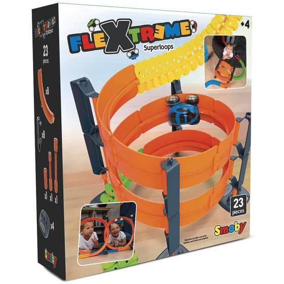 Set Pista Flextreme Super Loops Smoby - 2