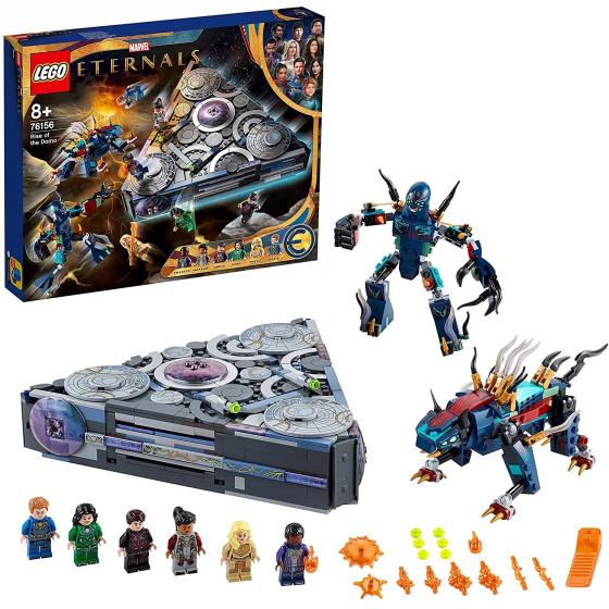 Lego Eternals 76156 Ascesa di Domo Lego - 2