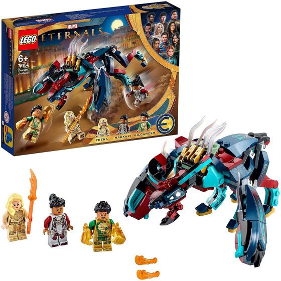 Lego Eternals 76154 Imboscata del Deviant Lego - 2