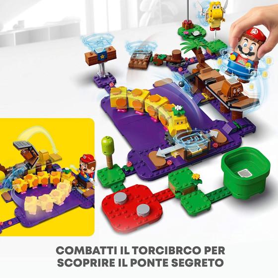 Lego Super Mario 71383 La Palude Velenosa di Torcibruco Lego - 1