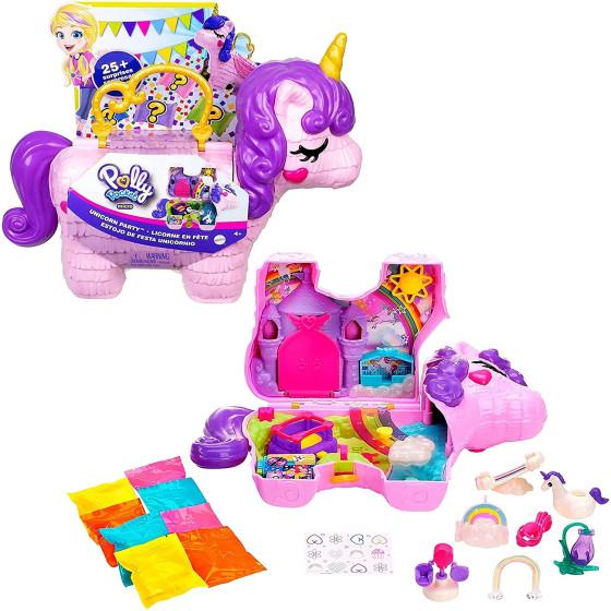 Polly Pocket Unicorno Magiche Sorprese GVL88 Mattel - 1